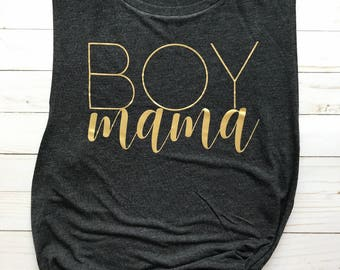 Mom Shirt, Mom of Boys Shirt, Mom of Boys, Mom Life Shirt, Mom Tank Top, Gift for Mom, Sports Mom, Birthday Gift, Mom Gift, New Mom Gift