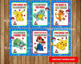 how to make pokemon valentines cards