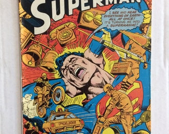 Superman Comic Book #321