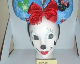 Christmas, Disney Ears, Custom Made
