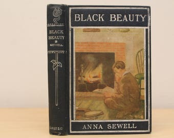 1907 Black Beauty- His Grooms and Companions- Anna Sewell- Series Book