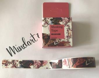 Masking Tape Books/Butterflies