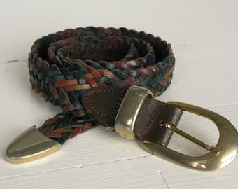 Vintage CAPEZIO Genuine Leather Belt 80s