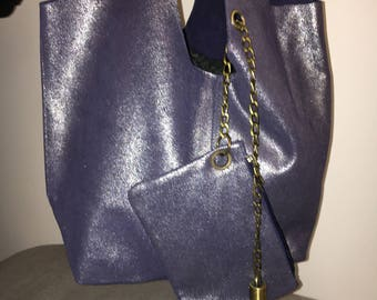 Bag pouch and leather