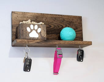 ON SALE- Buy NOW: Paw Print Decor, Dog Treat Holder, Key Holder, Key Organizer, Dog Treat Organizer, Dog Leash Hanger
