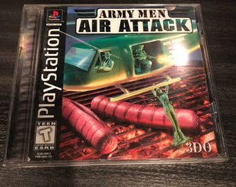 Army Men Air Attack for Playstation