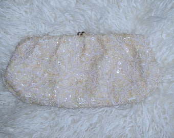 Beaded Sequins Vintage Purse