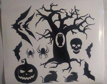 Halloween Window Decal
