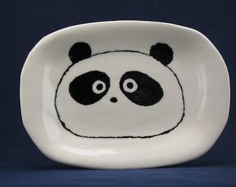 Panda dinnerware plate