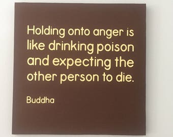 Anger Quote Sign