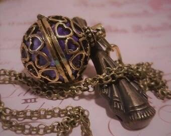 Bronze Aromatherapy Pendant