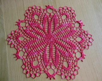 "Doily crochet ""Chestnut"""