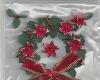 Jolee's Boutique ~ Holly Wreath ~ NIP