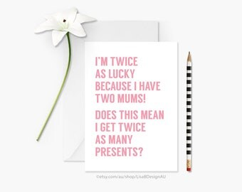 Funny Mothers Day Card | Card for Mum/Mom | Card for Her | Stepmum Card | Birthday Card | From Son | From Daughter | Humour Card | GCMDCA607
