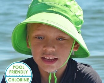 Swimhat Lime UPF50+