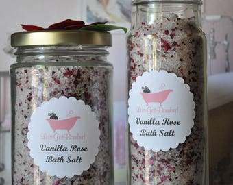 Vanilla Rose Soothing Bath Salt