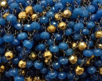 Blue Onyx Chalcedony