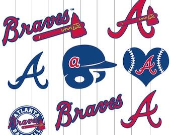 INSTANT DWNLOAD- Atlanta Braves Baseball SVG , Braves, Atlanta BravesFiles, Atlanta Braves svg, Atlanta svg, Baseball svg, Baseball Clipart