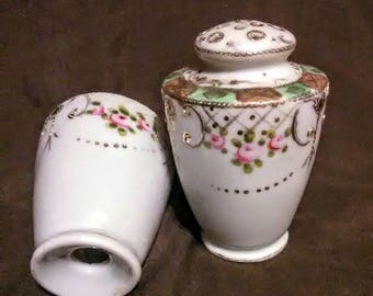 Antique Nippon China salt and pepper shakers