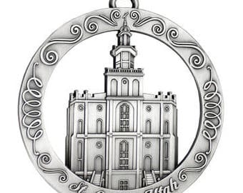 St. George Utah LDS Temple Ornament