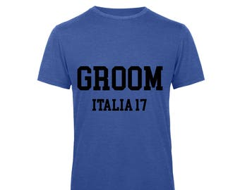Personalised Groom Stag do Stag Party T'Shirt