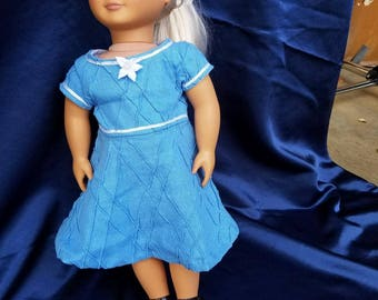 "American Girl Party Dress for 18"" Doll"