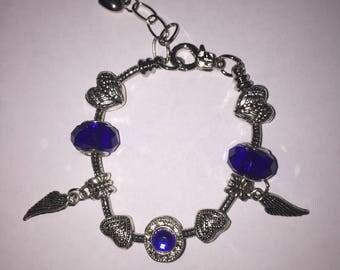 Crystal Dark Blue Bracelet