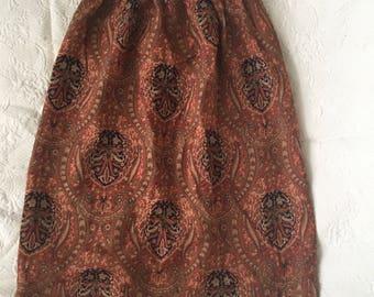 Paisley vintage skirt