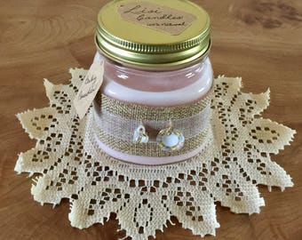 HYPOALLERGENIC CANDLES, Natural candles, 100% Soy Candles, Eco-Candles, Aromatherapy, Home Made, Hand Poured Candles, Gift for Her