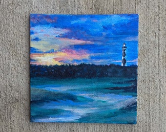Cape Lookout Lighthouse Painting