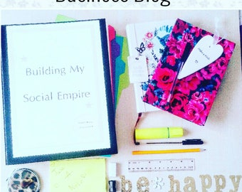 Blog about my business, advertise my business via blogging, Business write up, Business journal, Craft business help and support,