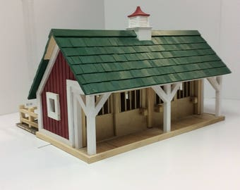 Toy Wooden Barn