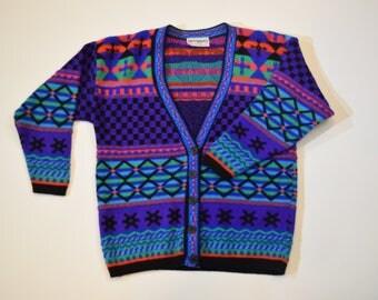 Retro 90's Knitwave Women's Size Small Cardigan