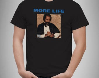 Drake Tshirt 3 Drizzy Rapper Mens Music T-Shirt Morelife Album Tee