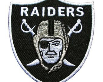 Black Raiders Shield Sword Patch W.Ch.Patch