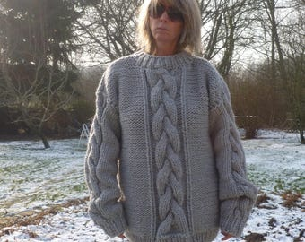 No mohair merino Alpka sweater