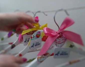 Wooden Hangers for children's clothing