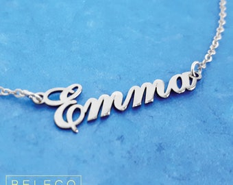 Personalized Name Necklace, Personalized Name Jewelry, Personalized Name Necklace Silver, Personalized Any Custom Name Necklace Custom Name