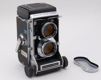 1965 Vintage Camera Mamiya C33 Professional TLR w / Sekor 80 mm f/2.8 from japan