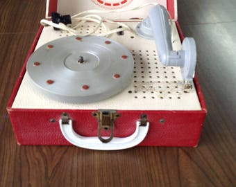 Electric phonograph, vintage and rare