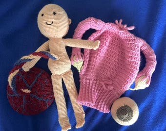 Midwifery birth education set
