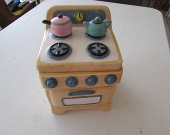 Sweet Vintage Cookie Jar