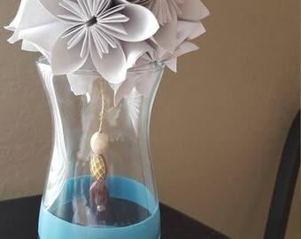 Origami Flower Centerpiece