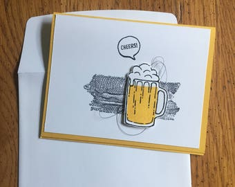 Cheers to Drinks Themed Cards (Set of 3)