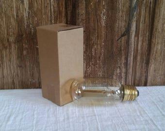 Reproduction 1900 Antique Vintage Edison Light Bulb 40W  Home Decor Bulb Y-8