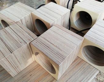 Pendant lamp, plywood lamp, wooden lamp