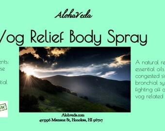 Vog Relief Body Spray - 2oz
