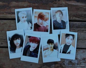 Monsta X Boyfriend Aesthetic Polaroids   몬스타엑스 Wonho Hyungwon Minhyuk Kihyun Jooheon Shownu I.M.