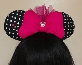 Polkadot Minnie Bow Ears