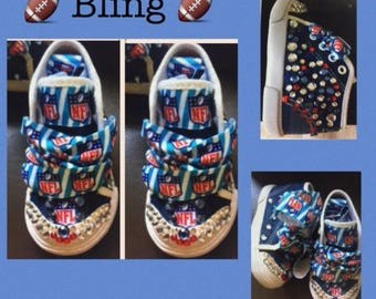 Nfl Shoes Etsy